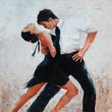 tancerze tanga malarstwo cyfrowe, tancerze tanga - 101626857