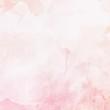 Leinwandbild Motiv Watercolor pink background