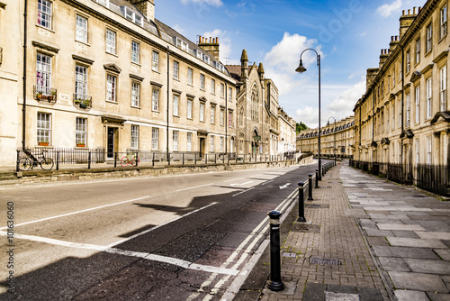 Photo  the historic centre of Bath