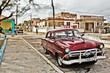 Cuba, Old Car in Cojímar