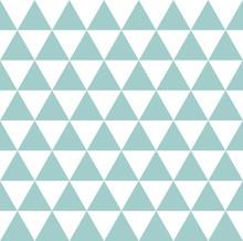 Sfondo A Triangolini Azzurri, Turchesi, Celesti