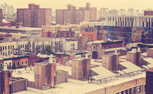 Vintage Toned Photo Of New Yor...