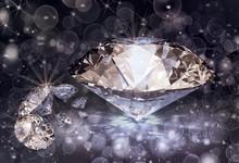Diamonds And Bokeh Lights
