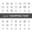 Icons shopping