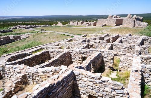 Fotografie, Obraz  Gran Quivira Ruins  at Salinas Pueblo Missions National Monument