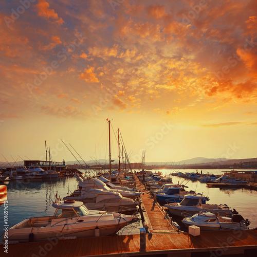 Staande foto Strand Fuerteventura Caleta del Fuste Canary Islands