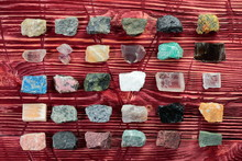 Collection Of Rocks And Minera...