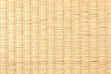 Texture Of A Tatami, A Traditional Japanese Mat As A Flooring Material
