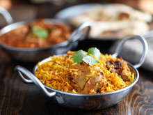 Balti Dish With Indian Chicken...