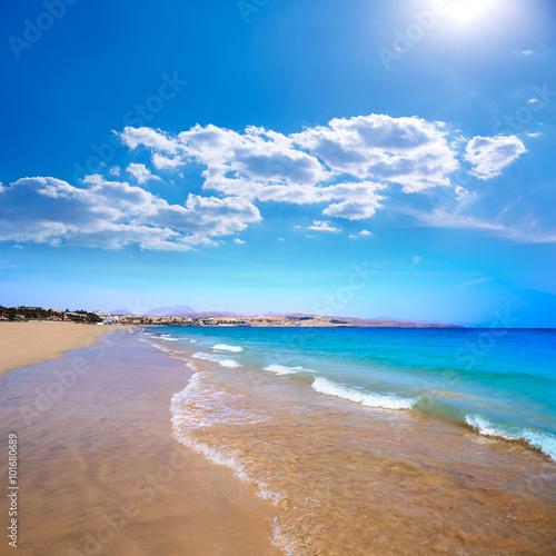 Costa Calma beach of Jandia Fuerteventura