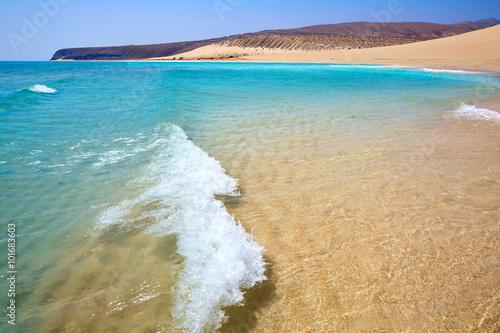 Deurstickers Canarische Eilanden Jandia beach Risco el Paso Fuerteventura