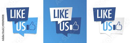 Obraz Like us - fototapety do salonu