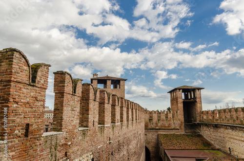 Fotografie, Obraz  Castelvecchio, fortress, Adige river, Verona,  Veneto, Italy.