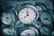 Reflexion Of Clocks