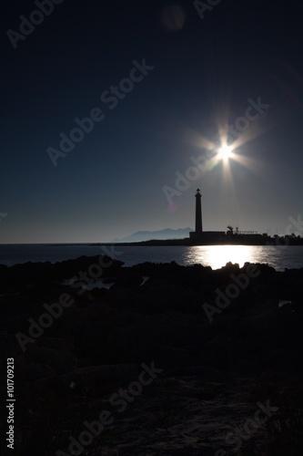 Ingelijste posters Vuurtoren Favignana lighthouse