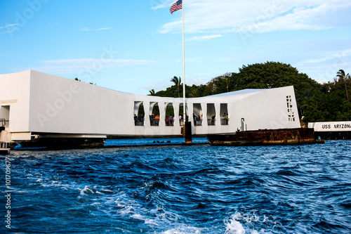 Photo  U.S.S. Arizona Memorial, Pearl Harbor