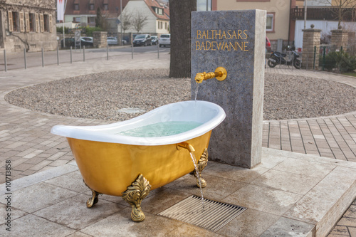 Leinwand Poster Balthasars Badewanne