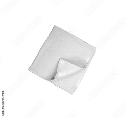 Papel de parede handkerchief isolated on white