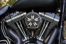 Motorcycle, Motorbike Engine Close-up, Background Concept.