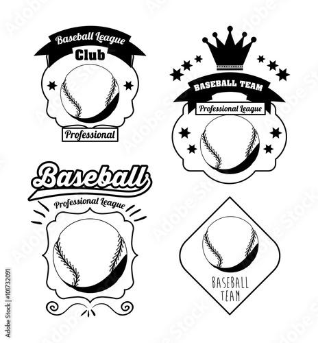 Photo  baseball league design