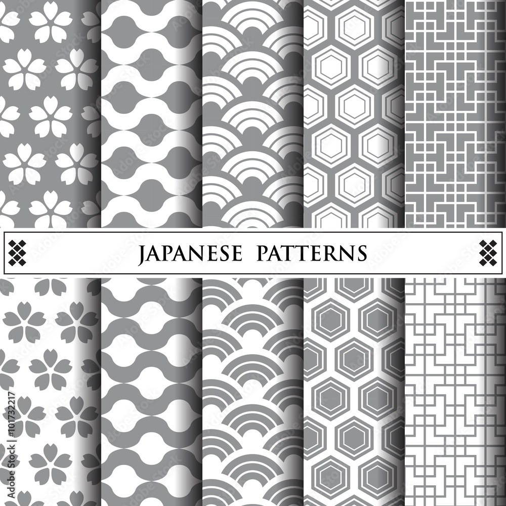 japanese vector pattern,pattern fills, web page background,surfa