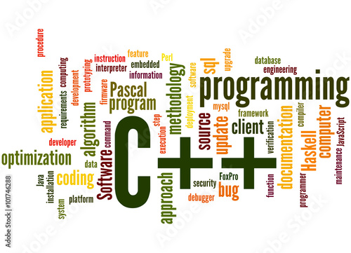 C++ programming, word cloud concept 5 - Buy this stock