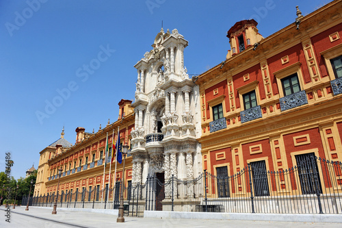 Sevilla, presidencia de la Junta de Andalucía, Palacio de San Telmo, España Wallpaper Mural