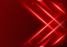 Red Abstract Background With L...