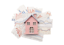 House On Newspaper Charts With...