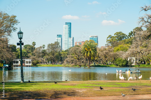 Fotobehang Buenos Aires Buenos Aires parks