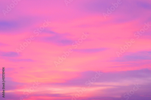 Foto op Aluminium Candy roze colorful sky