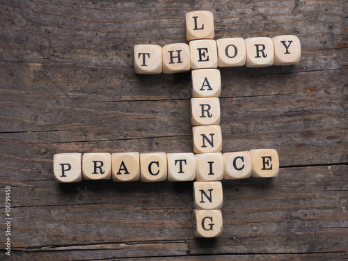 Fotografie, Obraz  Theory and practice