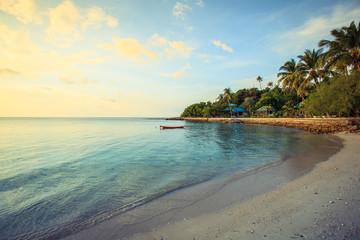 Beautiful shore at koh pangan