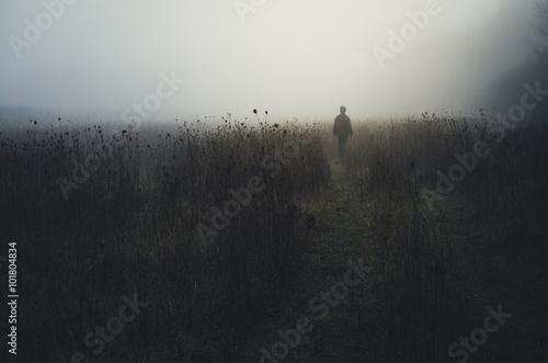 Photo  man wandering in nature