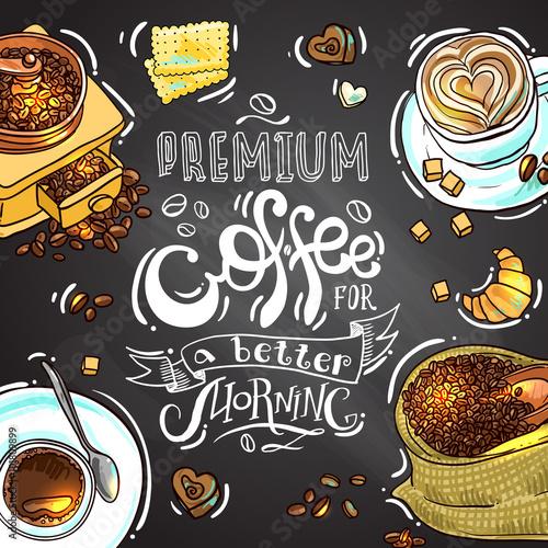 Fotografía  Café para su diseño