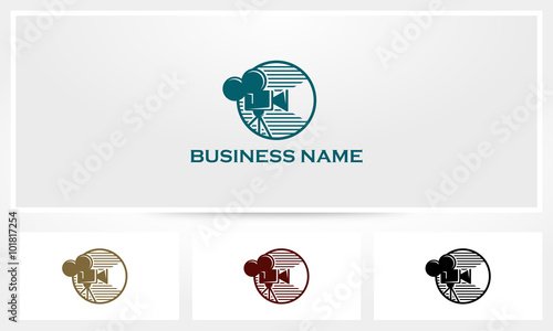 Fotografia, Obraz Camera Film Logo