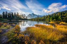 Picture Lake Trail, Artist Point , North Cascades Region