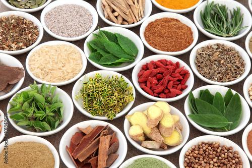 Fototapety, obrazy: Super Food for Mens Health