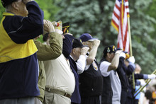 Veterans Saluting