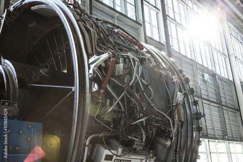 Photo jet engine