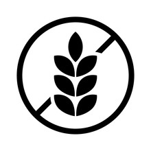 Gluten Free Or Non Gluten Food Allergy Product Dietary Label For Apps And Websites