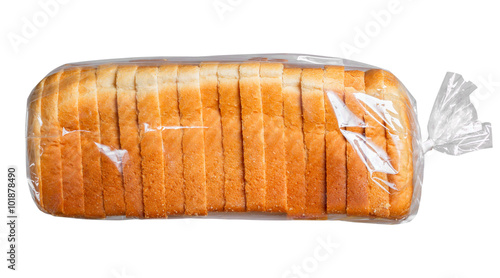 Fotografie, Obraz  Bread in plastic bag.