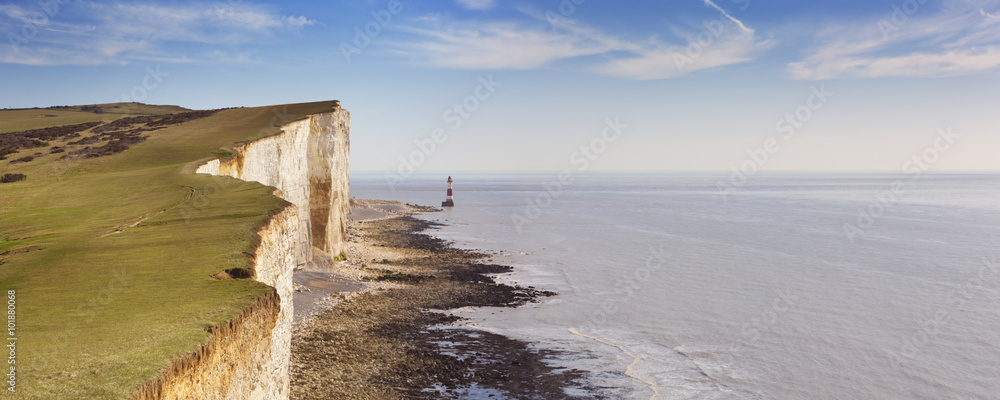 Fototapety, obrazy: Cliffs at Beachy Head on the south coast of England