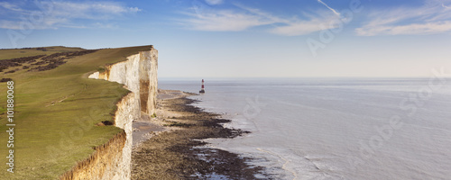 Tuinposter Kust Cliffs at Beachy Head on the south coast of England