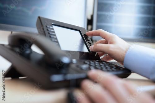 Obraz Dialing telephone keypad - fototapety do salonu