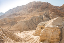 Cave In Qumran, Where The Dead...