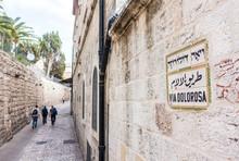 Via Dolorosa, Jerusalem, Israe...