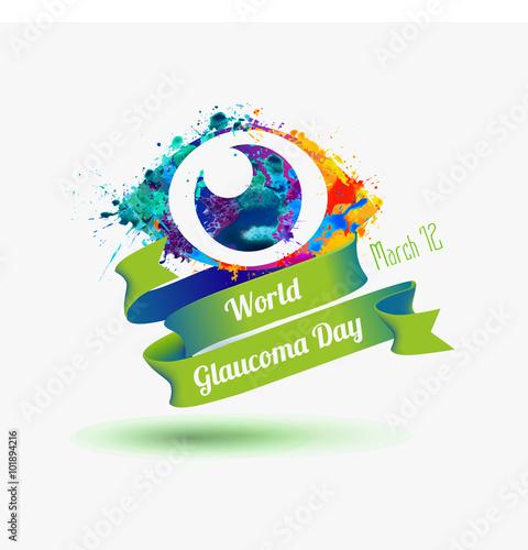 Fotografía  World Glaucoma Day, 12 March