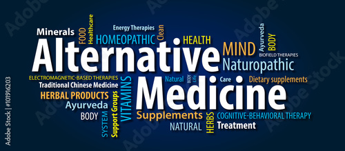 Alternative Medicine Wallpaper Mural