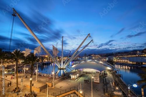 Fotografia  Porto antico Genova